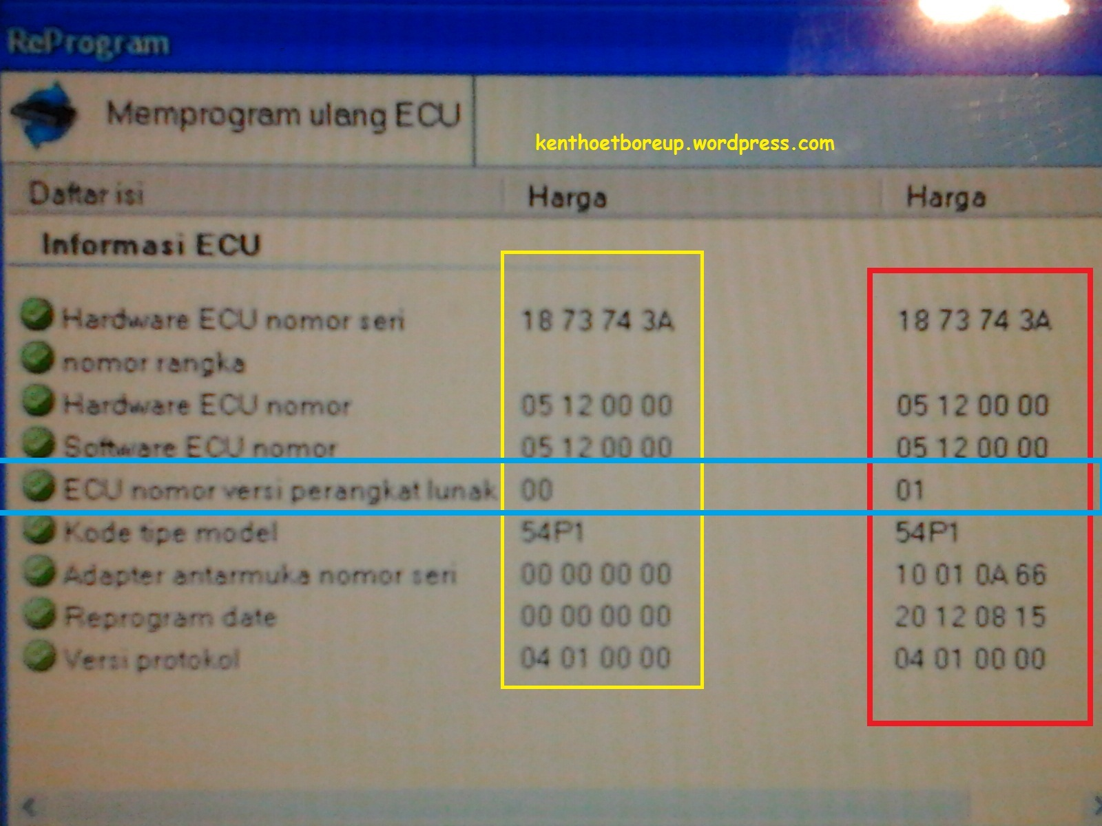 Re-Program ECU Mio J dan Soul GT biar stasionernya stabil ...