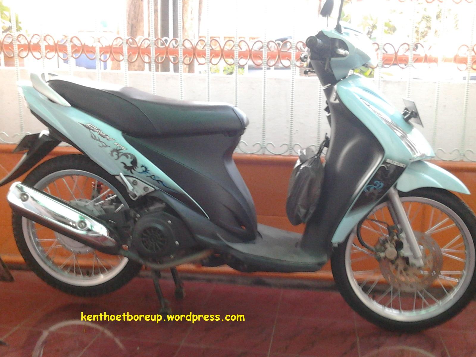 Suzuki Spin 125 Ganti Velg Ring 17 Top Speed Jadi Turun Drastis